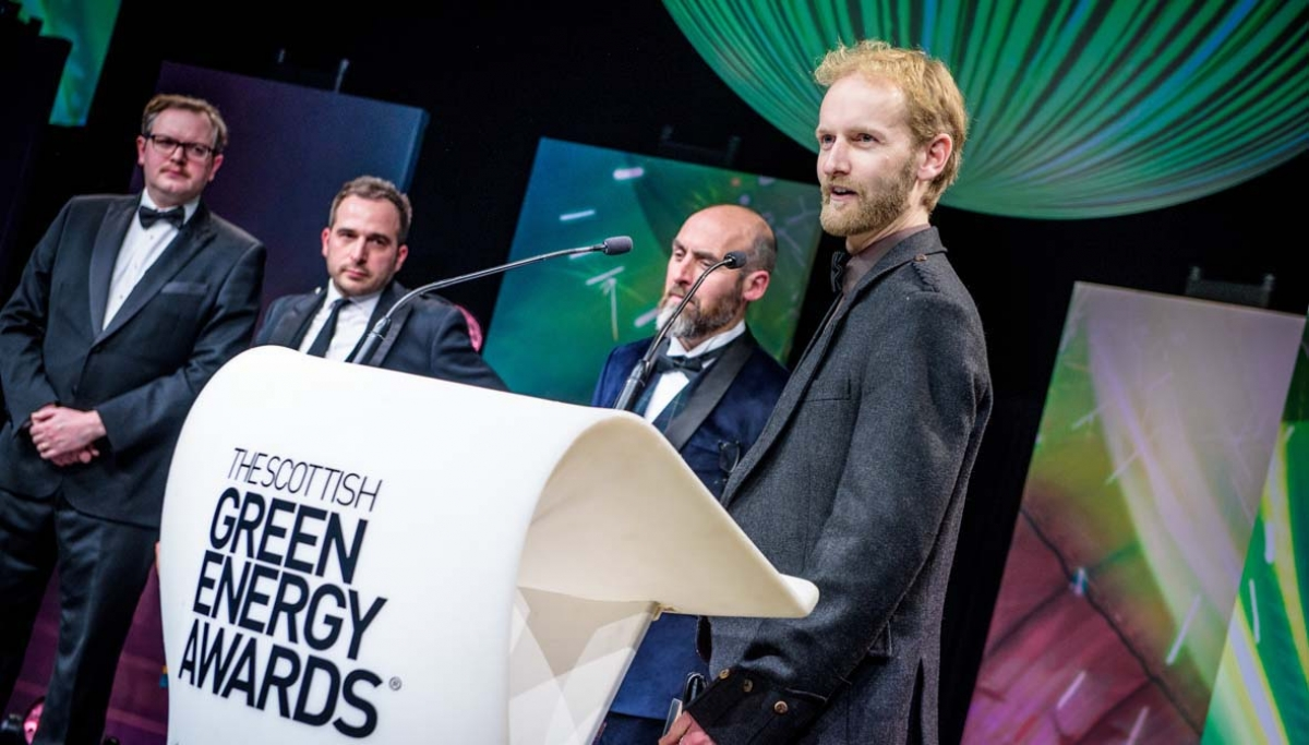 The Scottish Green Energy Awards 2016 - Winner